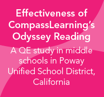 Effectiveness of CompassLearning's Odyssey Reading for Middle School: Poway Unified School District