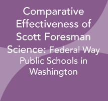 Comparative Effectiveness of Scott Foresman Science: Federal Way Public Schools