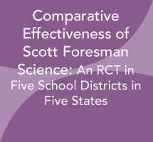 Comparative Effectiveness of Scott Foresman Science: An RCT in 5 School Districts