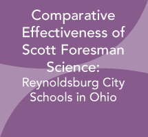Comparative Effectiveness of Scott Foresman Science: Reynoldsburg City Schools