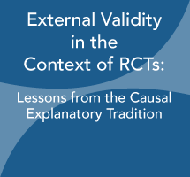 External Validity in the Context of RCTs: Lessons from the Causal Explanatory Tradition