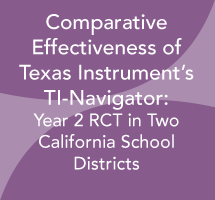Comparative Effectiveness of the Texas Instrument's TI-Navigator