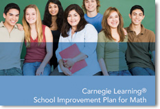 (Picture of the Carnegie Learning brochure)