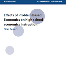 Effects of Problem-based Economics on High School Economics Instruction