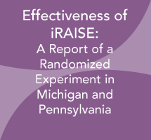 Effectiveness of Internet-Based Reading Apprenticeship Improving Science Education (iRAISE): A Report of a Randomized Experiment in Michigan and Pennsylvania