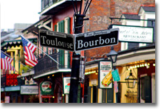 (picture of Bourbon Street)